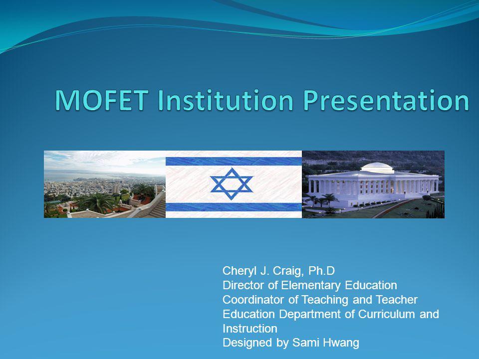 MOFET Institution Presentation