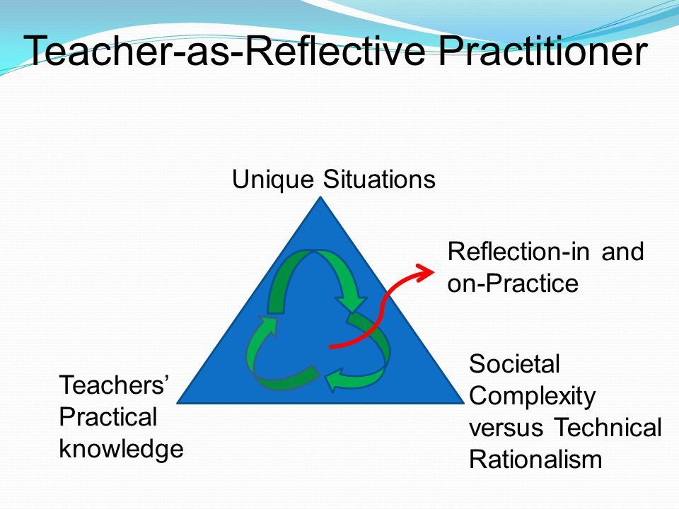 Teacher-as-Reflective Practitioner