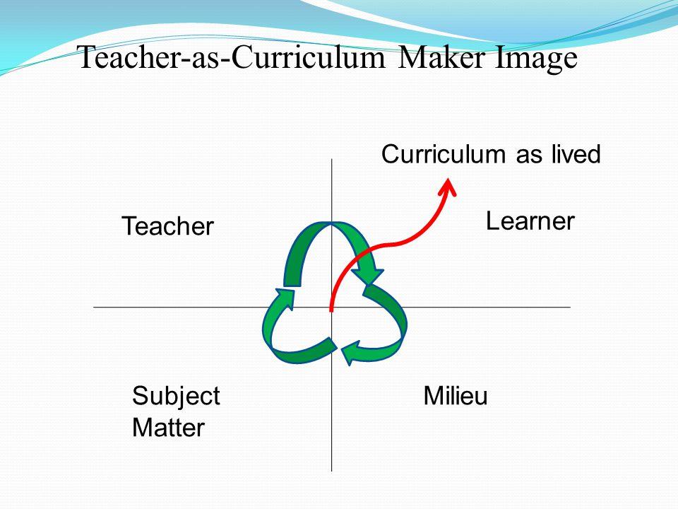 Teacher-as-Curriculum Maker Image