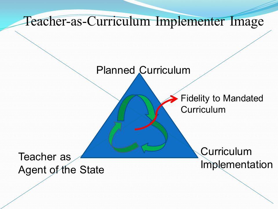 Teacher-as-Curriculum Implementer Image