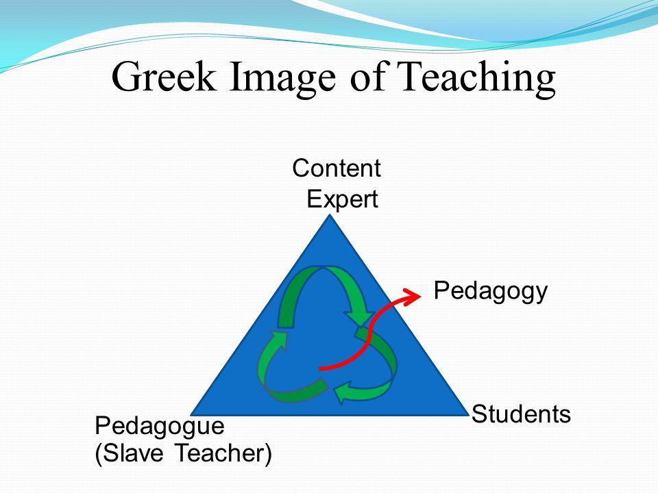 Greek Image of Teaching
