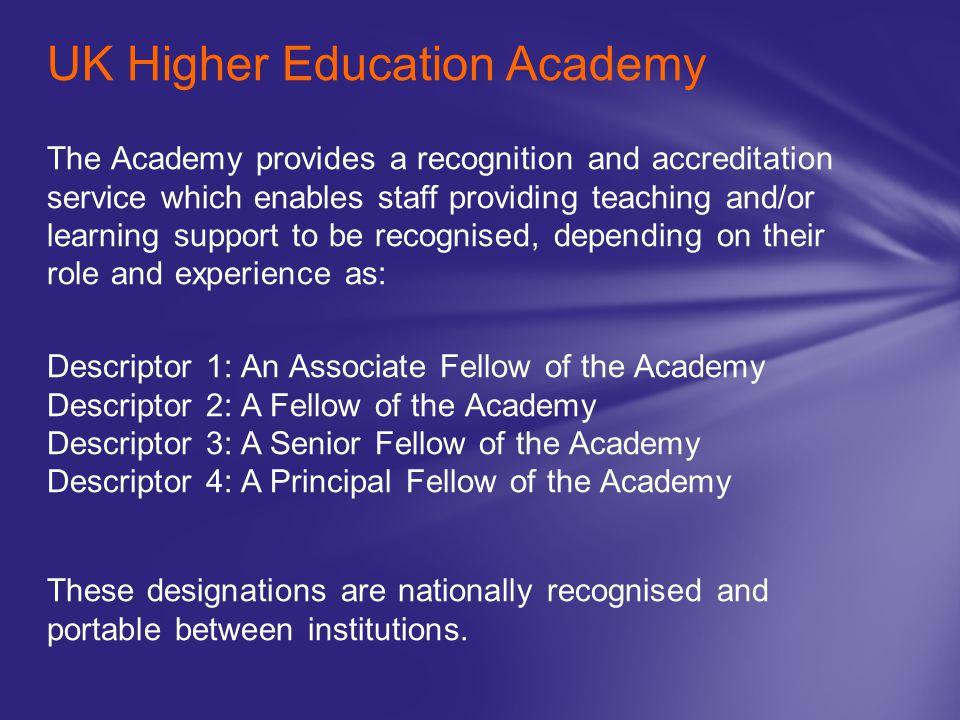 UK Higher Education Academy
