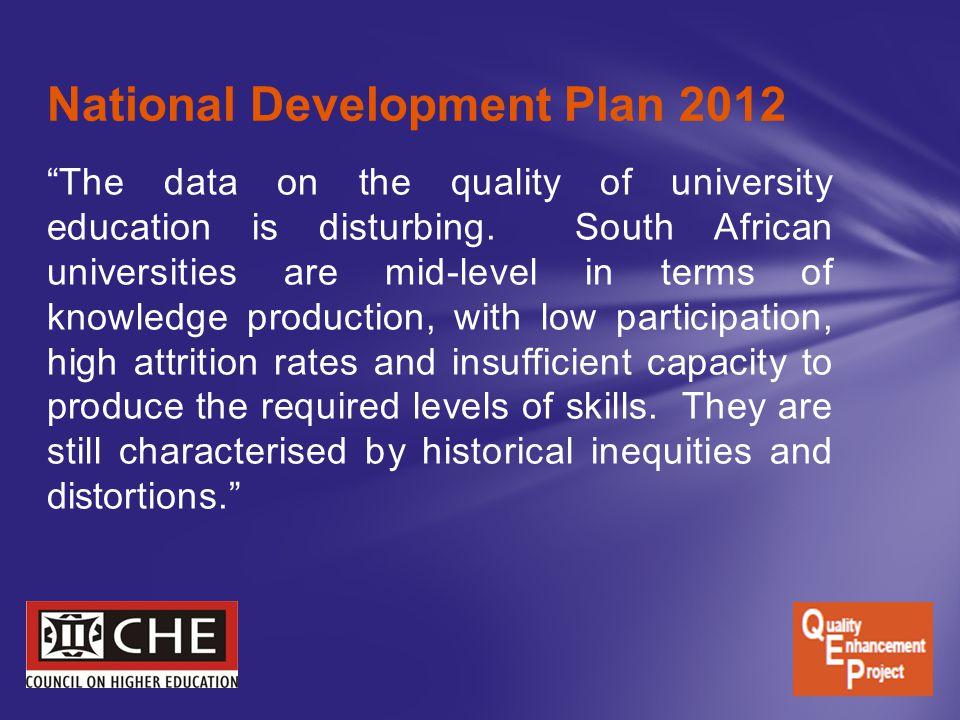 National Development Plan 2012