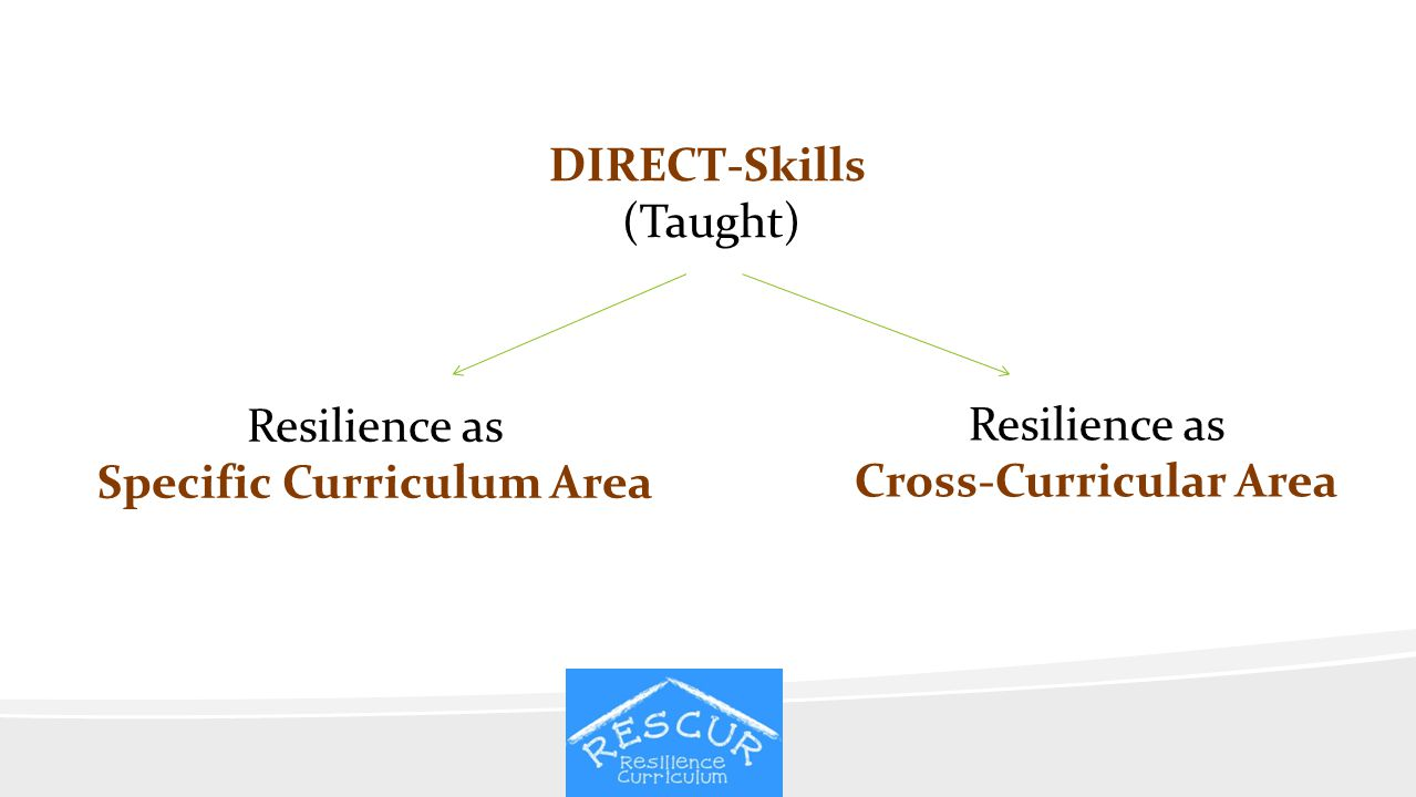 Specific Curriculum Area Cross-Curricular Area