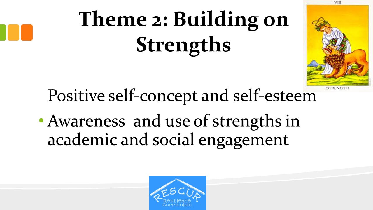 Theme 2: Building on Strengths