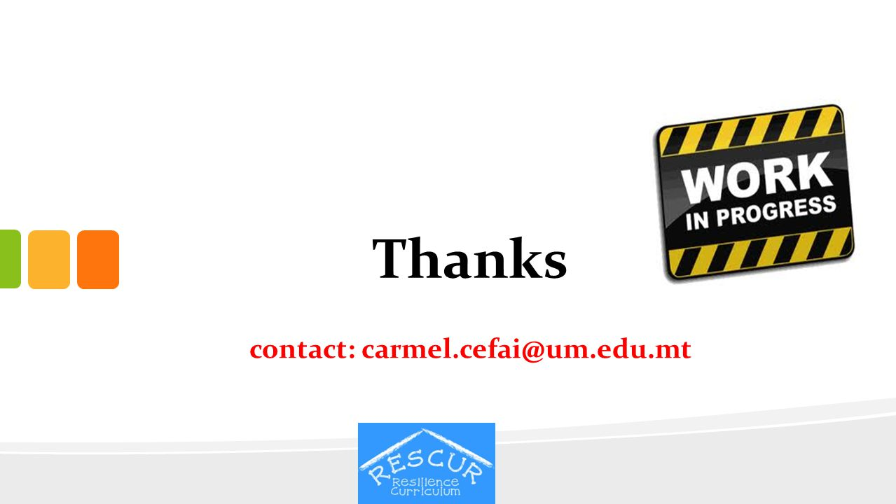 contact: carmel.cefai@um.edu.mt