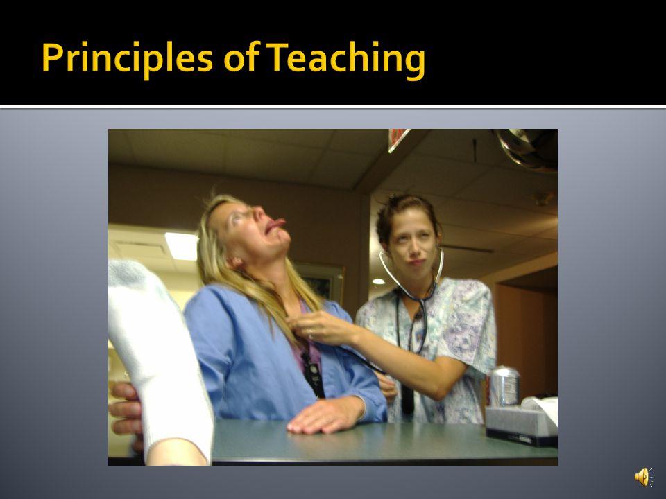 Principles of Teaching