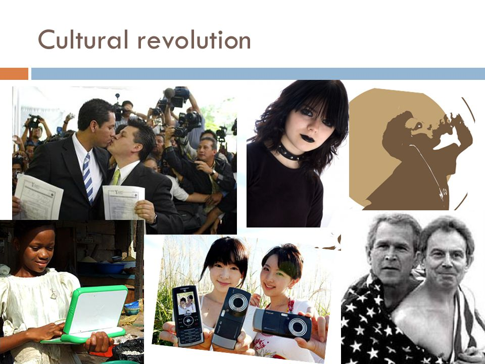 Cultural revolution OK – so that the past – good and bad.