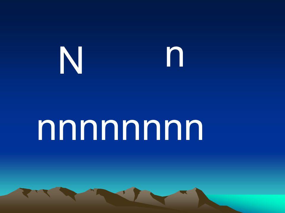n N nnnnnnnn