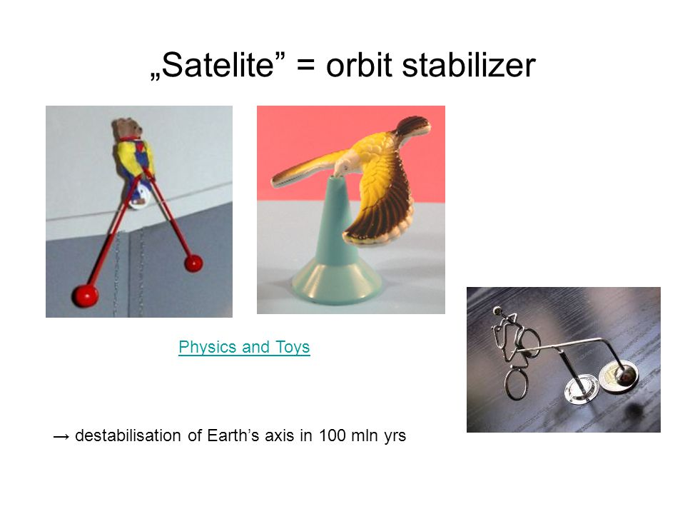 """Satelite = orbit stabilizer"