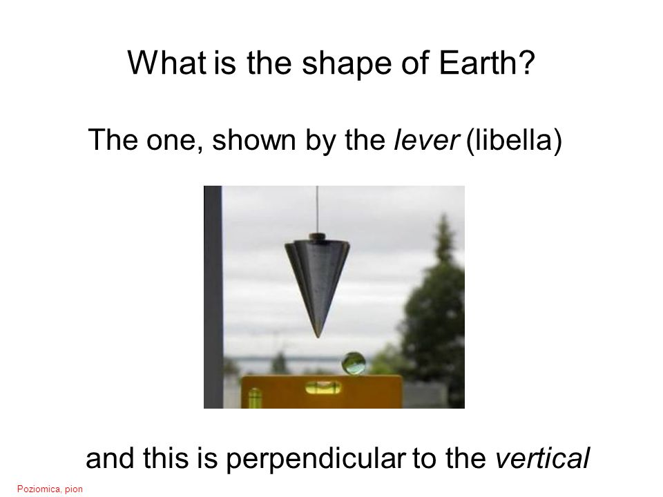 What is the shape of Earth