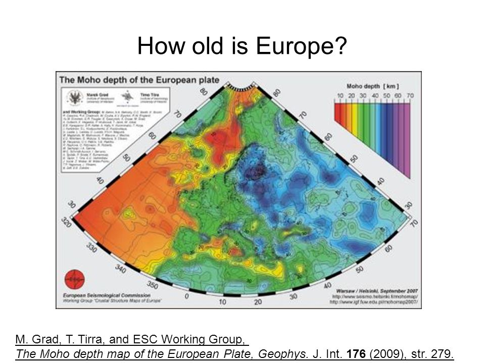 How old is Europe M. Grad, T. Tirra, and ESC Working Group,