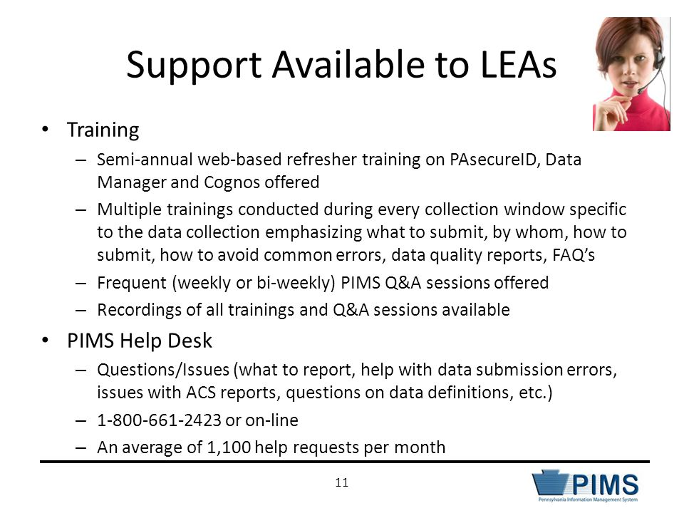 Support Available to LEAs