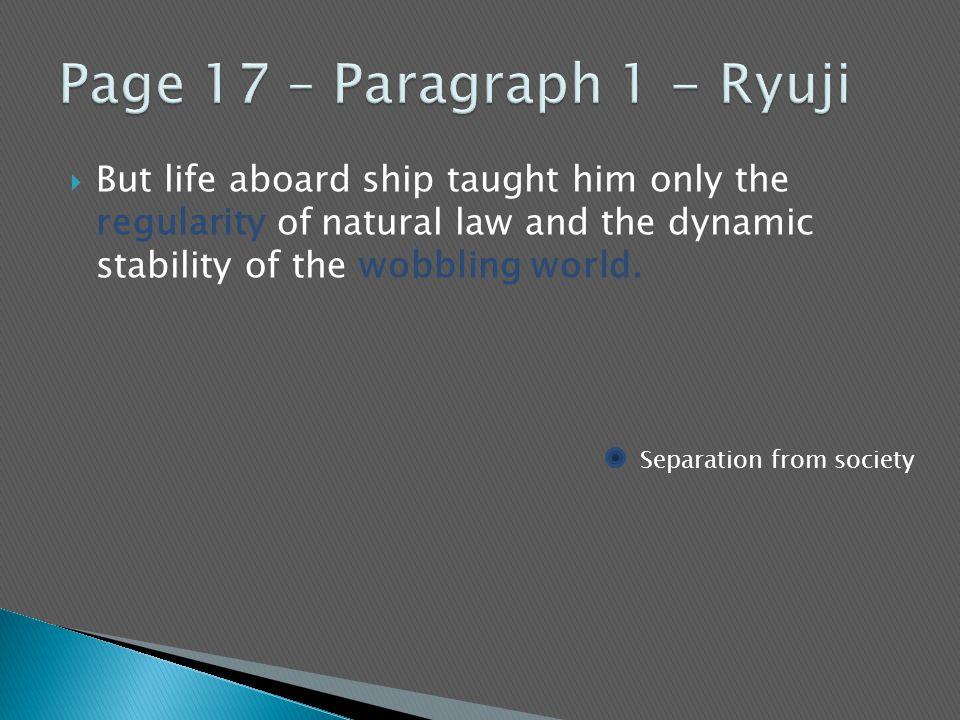 Page 17 – Paragraph 1 - Ryuji
