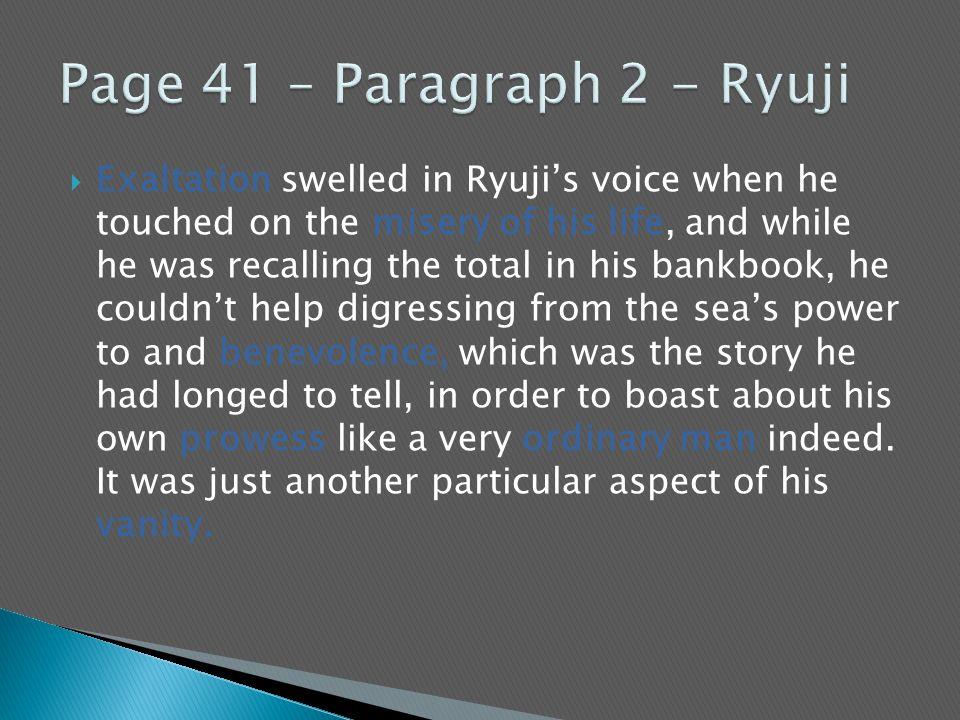 Page 41 – Paragraph 2 - Ryuji