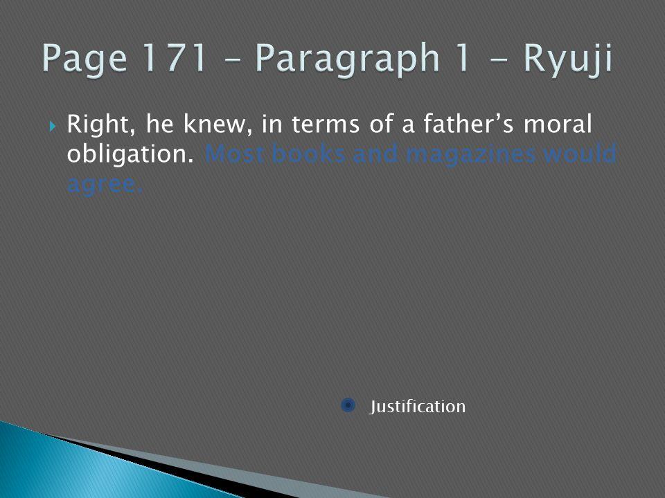 Page 171 – Paragraph 1 - Ryuji
