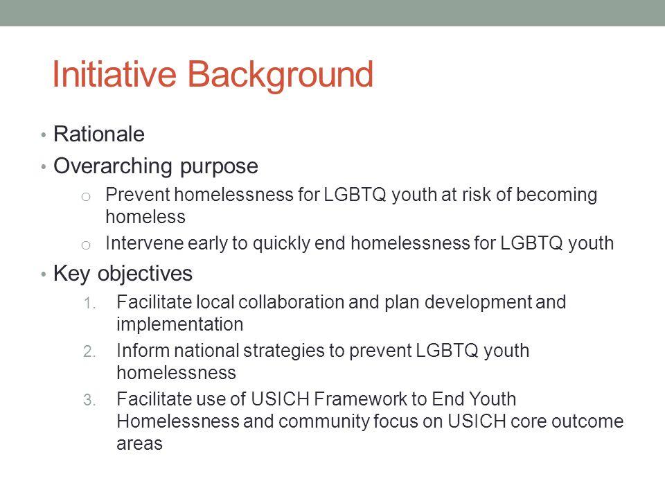 Initiative Background