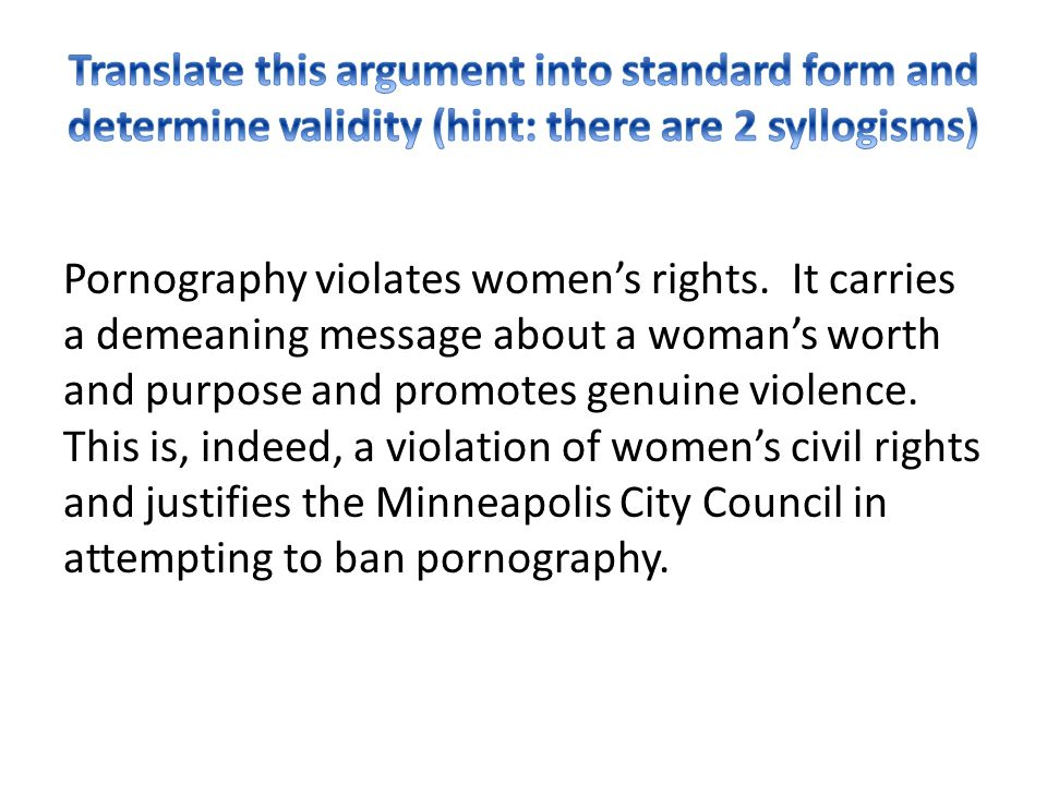 Translate this argument into standard form and determine validity (hint: there are 2 syllogisms)