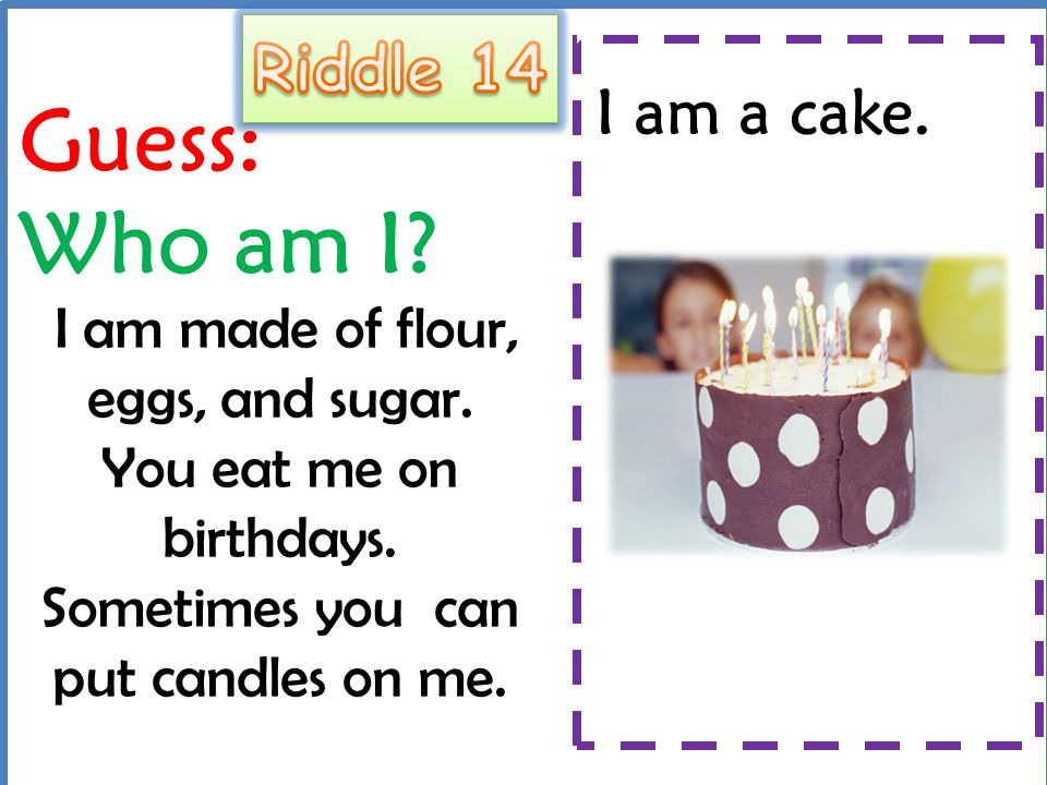 Food Riddles V B Ppt Video Online Download