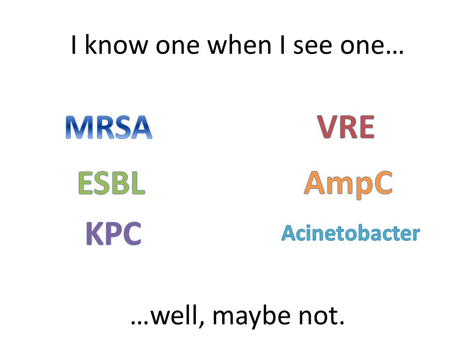 I know one when I see one…