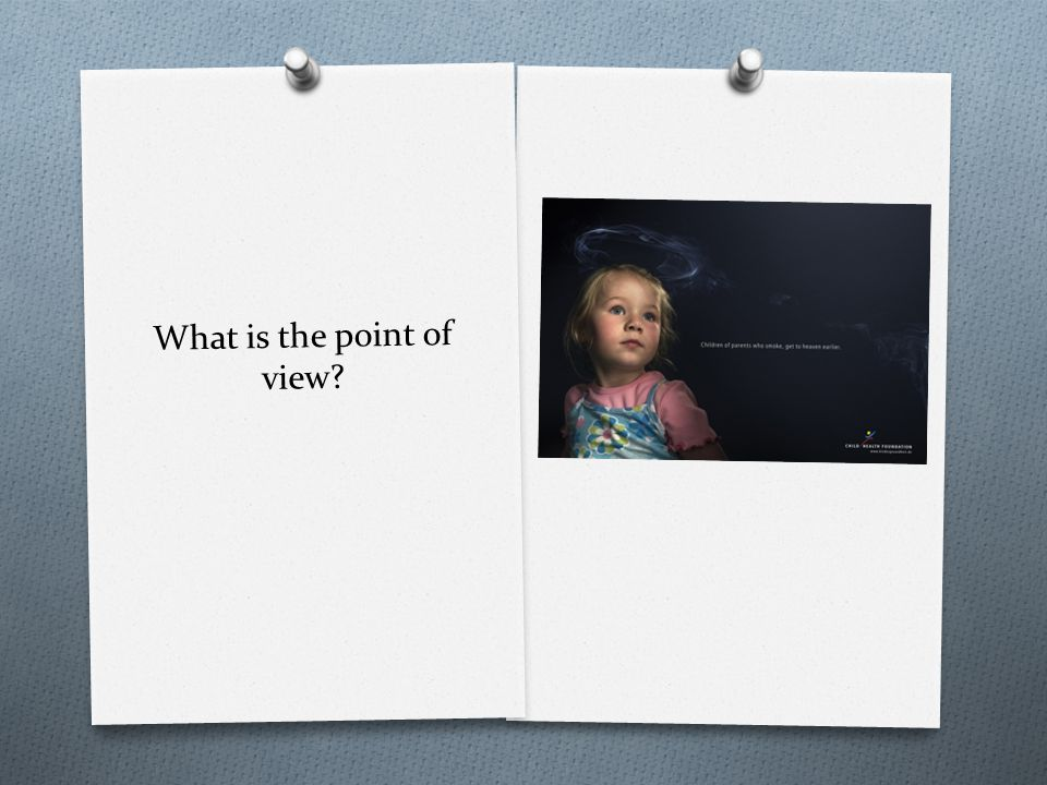 What is the point of view