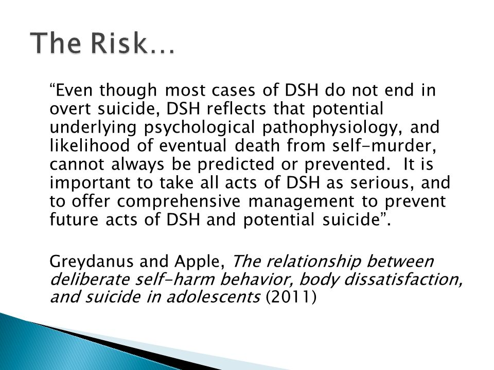 The Risk…