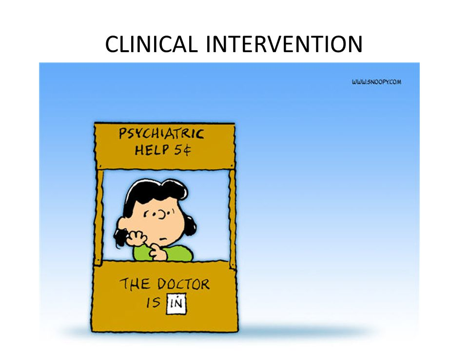 CLINICAL INTERVENTION
