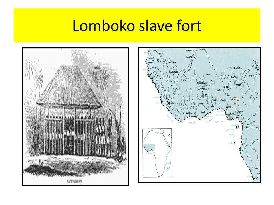 Lomboko slave fort