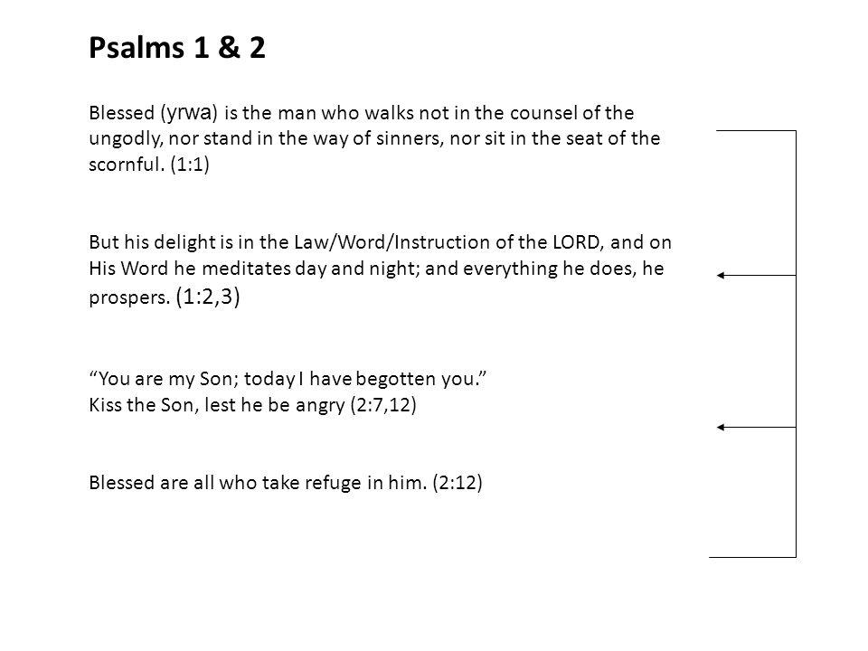 Psalms 1 & 2