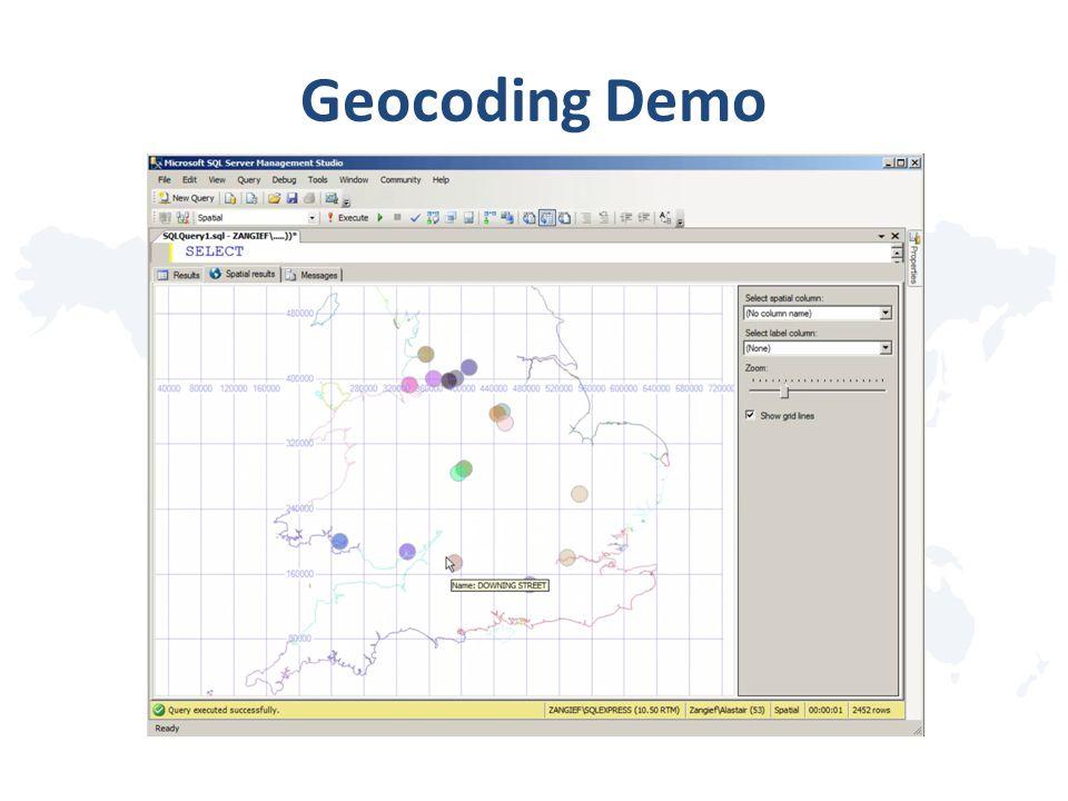 Geocoding Demo