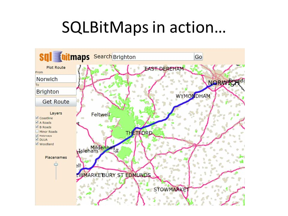 SQLBitMaps in action…