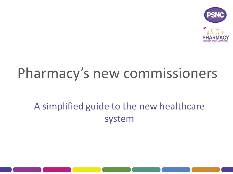 Pharmacy's new commissioners