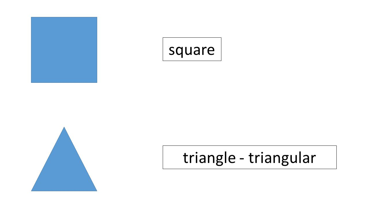 square triangle - triangular