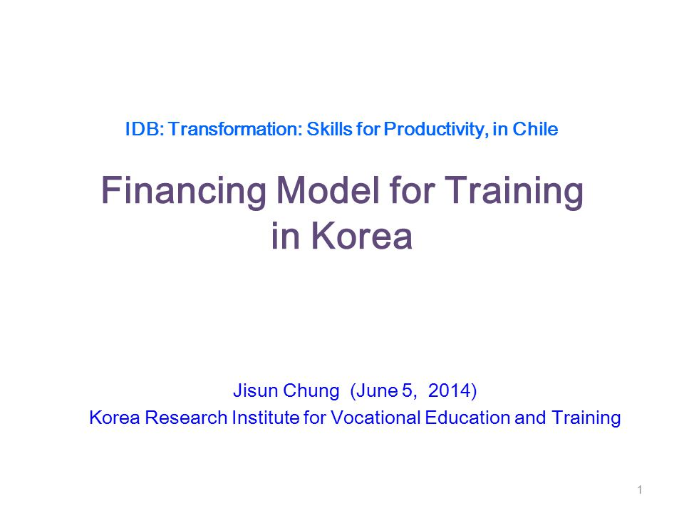 Korea Research Institute for Vocational Education and Training