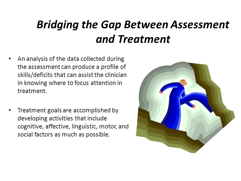 Bridging the Gap Between Assessment and Treatment