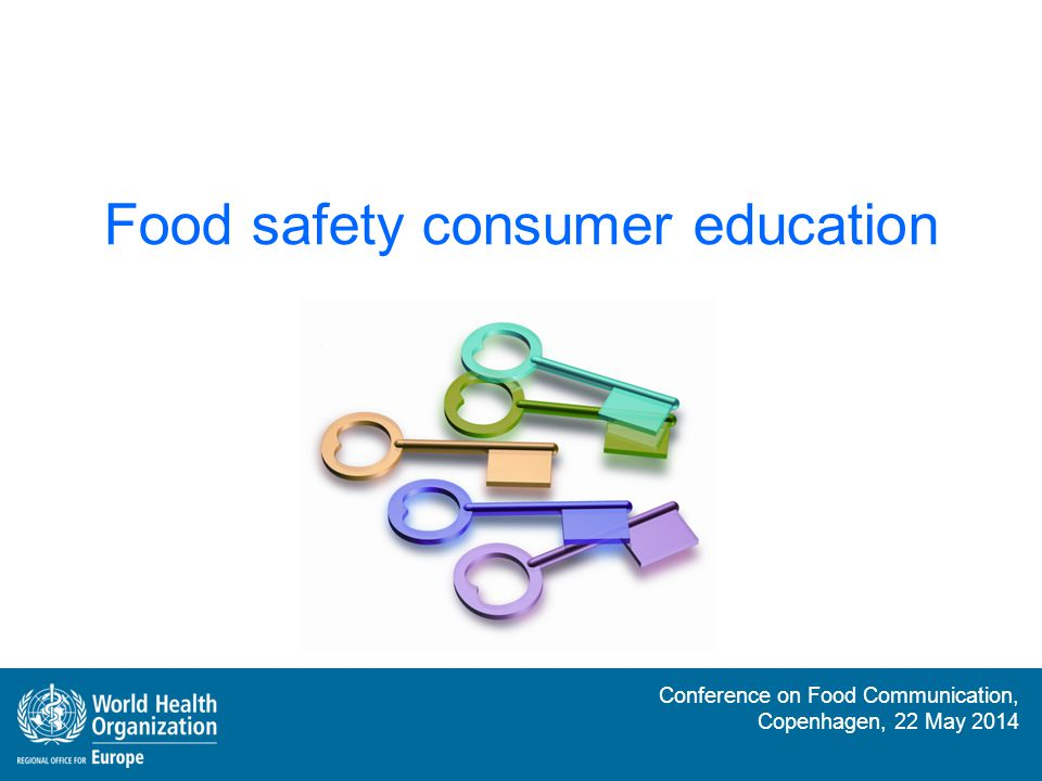 Food safety consumer education