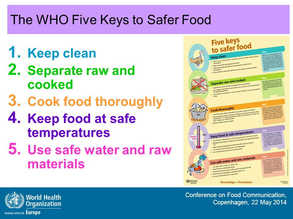 The WHO Five Keys to Safer Food