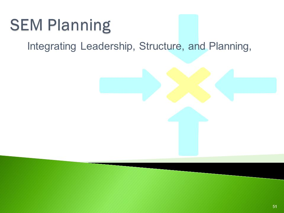 Integrating Leadership, Structure, and Planning,