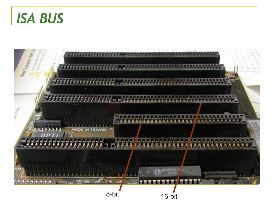 ISA BUS 8-bit 16-bit