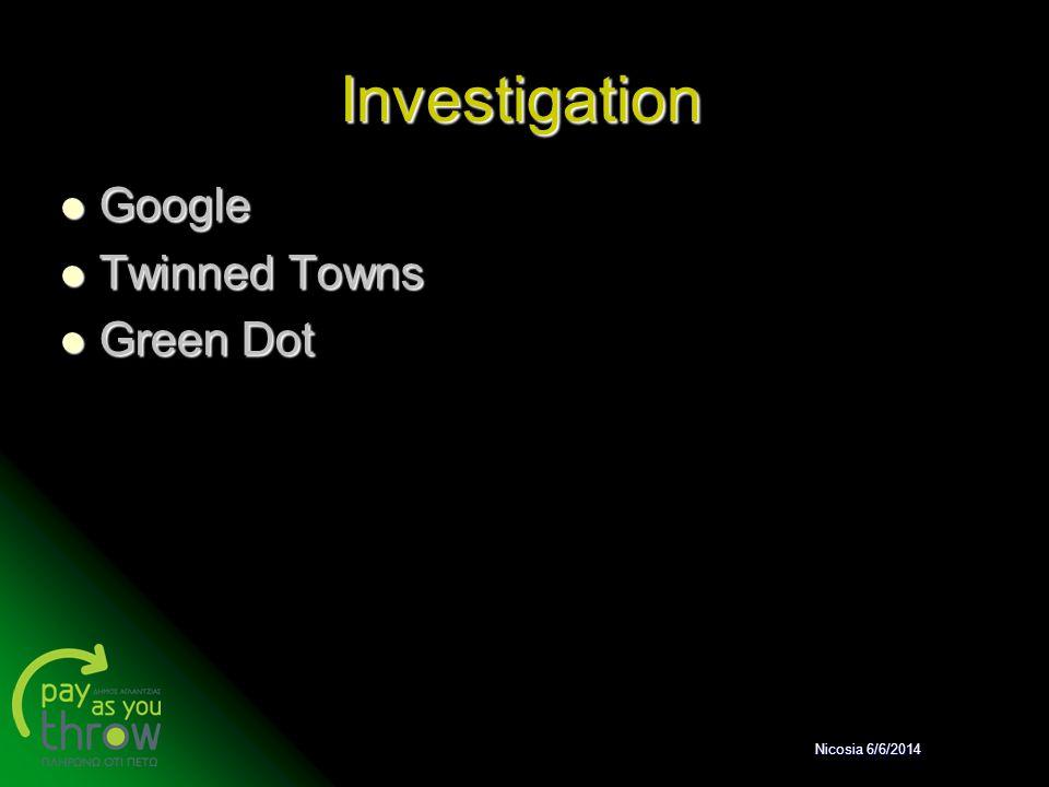 Investigation Google Twinned Towns Green Dot Nicosia 6/6/2014