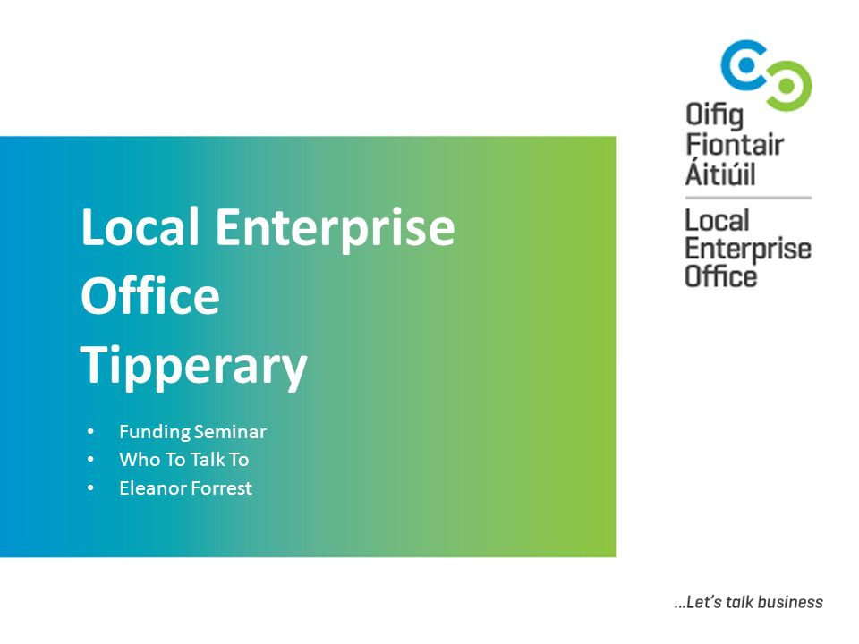Local Enterprise Office Tipperary