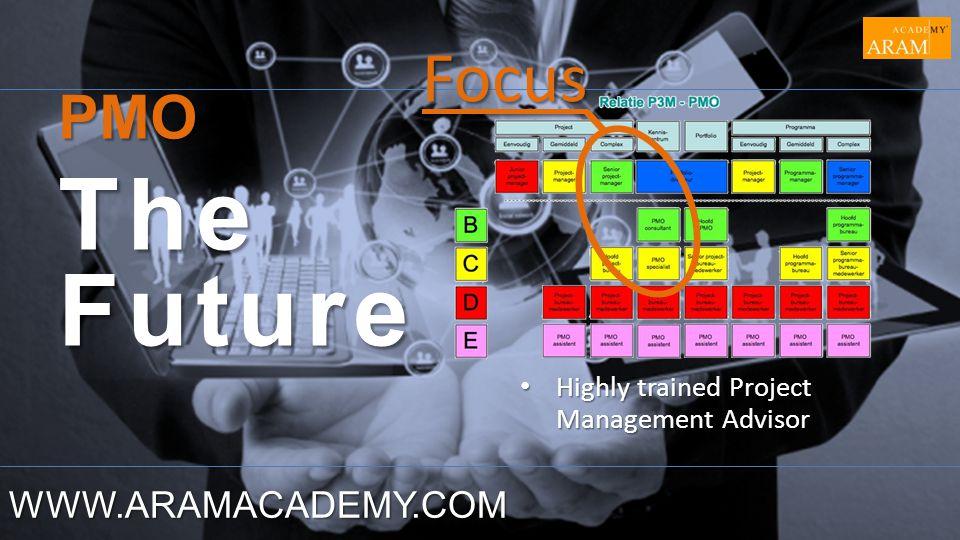 The Future Focus PMO WWW.ARAMACADEMY.COM