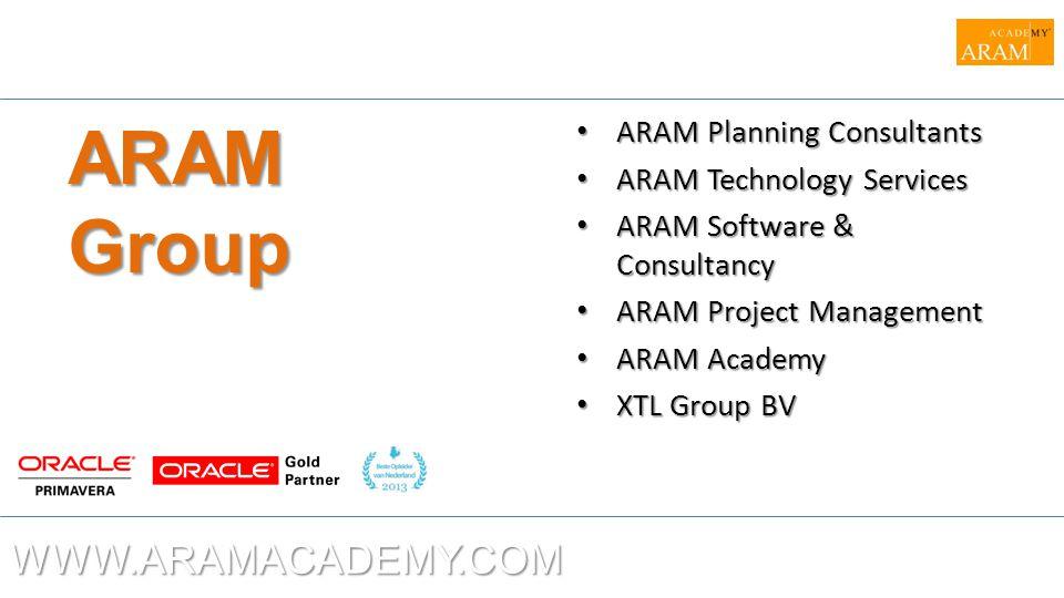 ARAM Group WWW.ARAMACADEMY.COM ARAM Planning Consultants