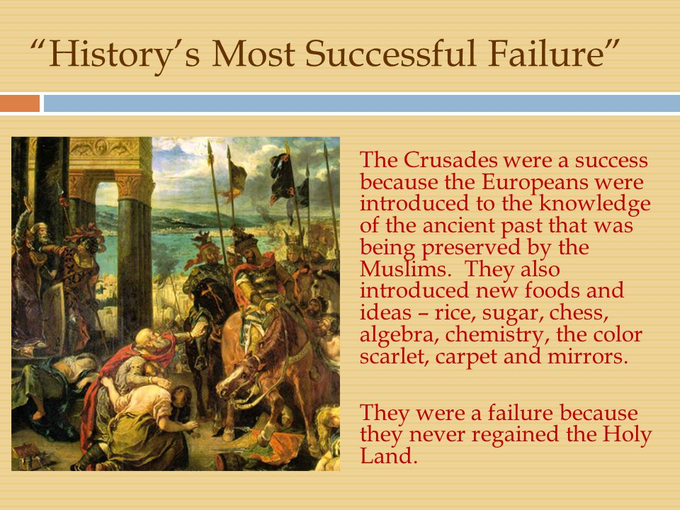 History's Most Successful Failure