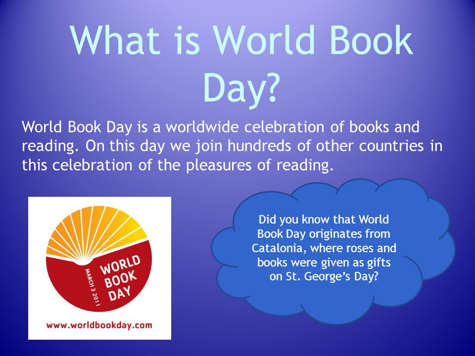 What is World Book Day