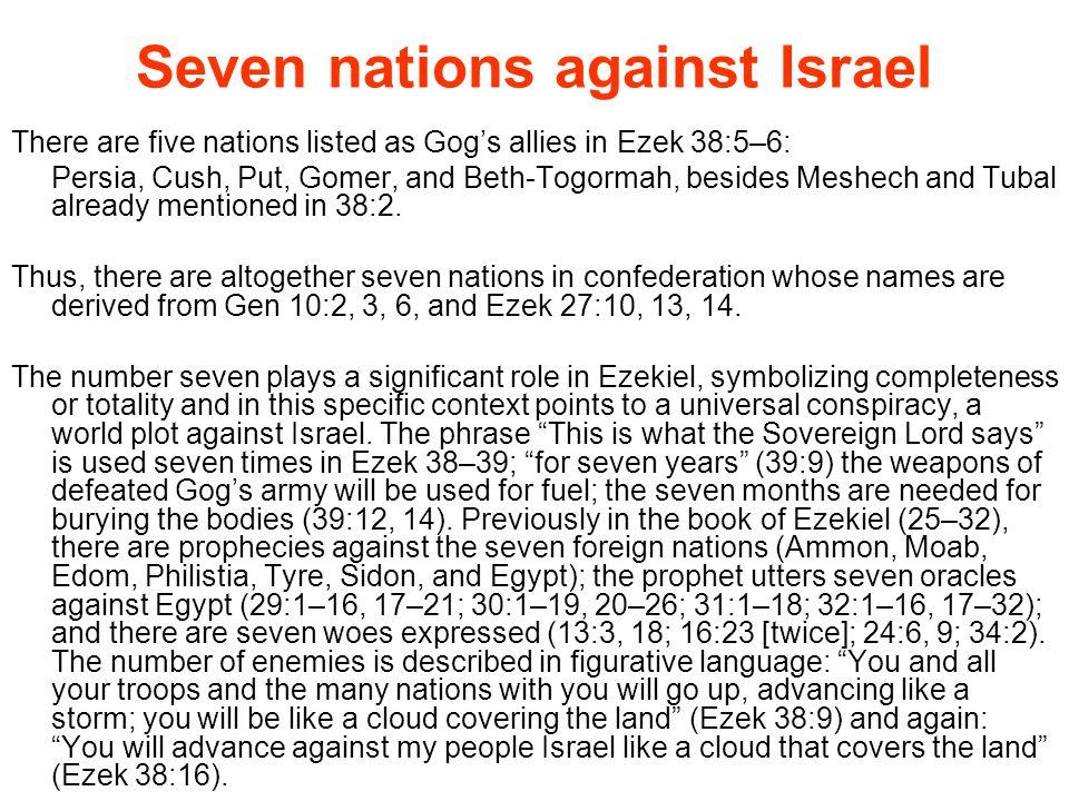 Seven nations against Israel