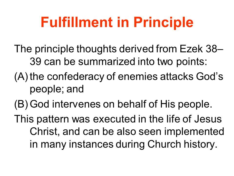 Fulfillment in Principle