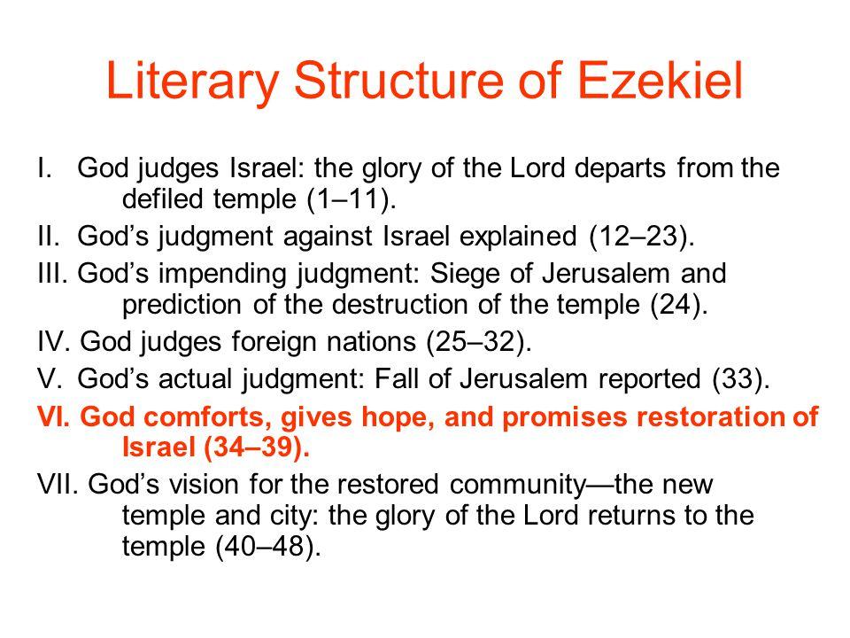 Literary Structure of Ezekiel
