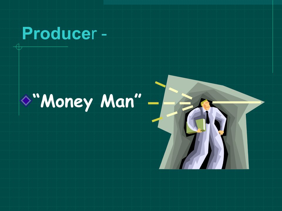 Producer - Money Man