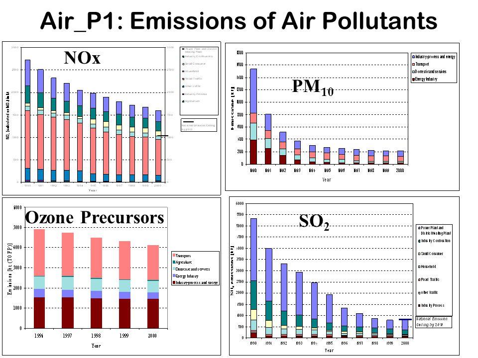 Air_P1: Emissions of Air Pollutants